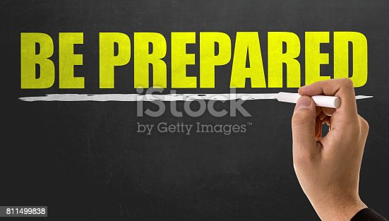 istock Be Prepared 811499838