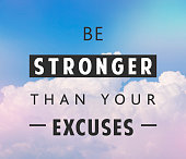 Be stronger quote