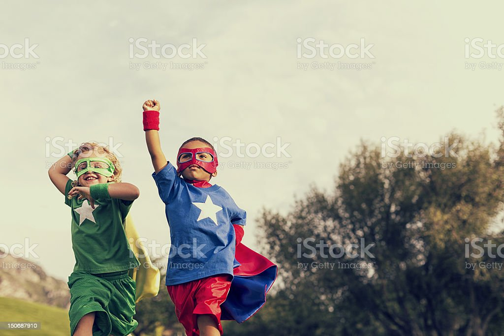 Be Super royalty-free stock photo