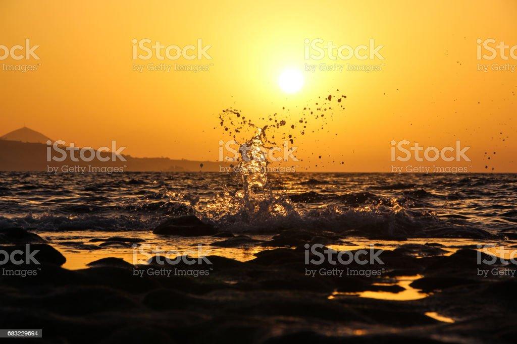 Be water my friend 免版稅 stock photo