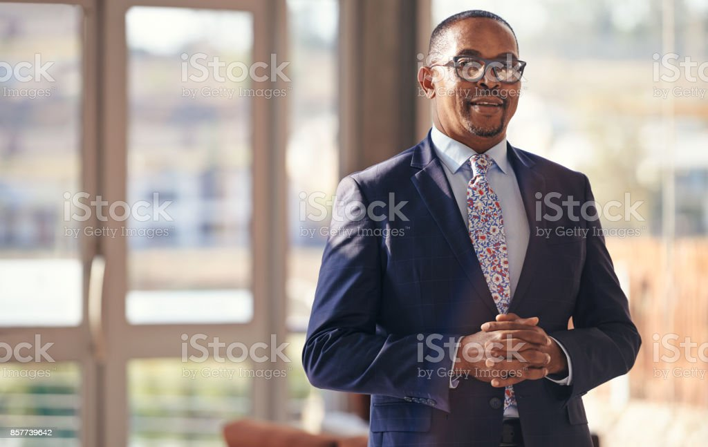Be where your business meets success stock photo