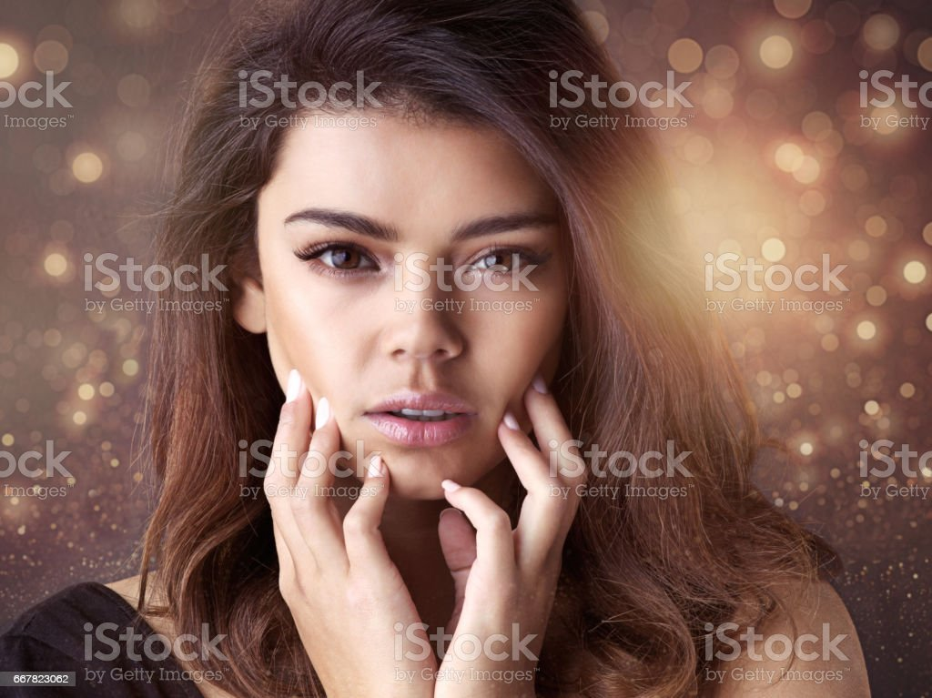 Be your own kind of goddess stock photo