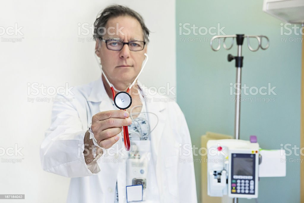 Be your own medical advocate royalty-free stock photo