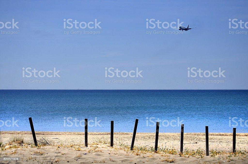 Praia 2 foto de stock royalty-free