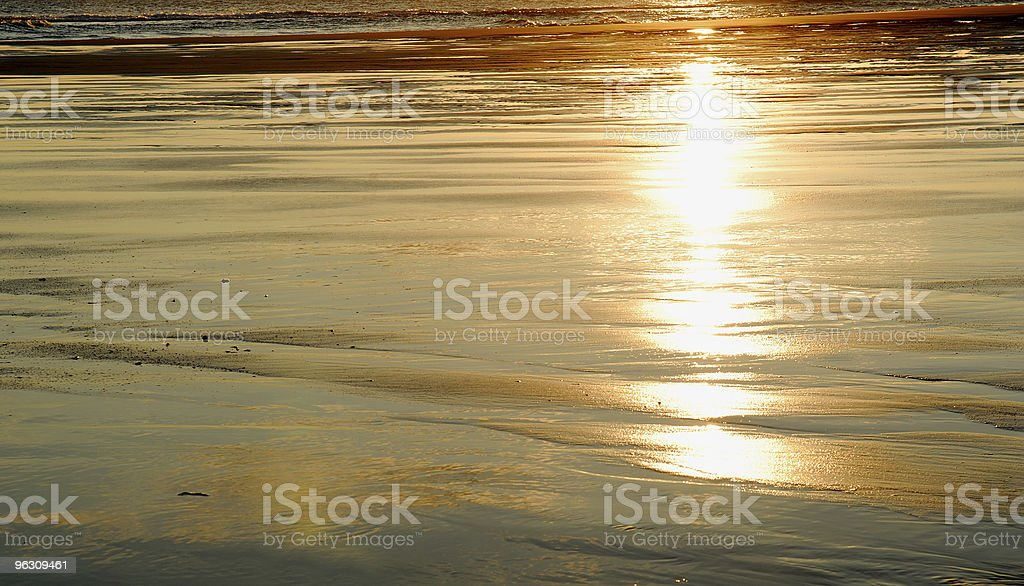 Beach abstract. royalty-free stock photo