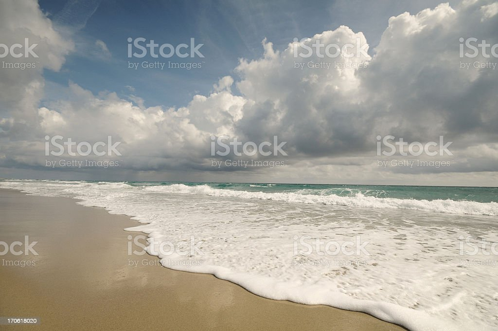 Beach Afternoon royalty-free stock photo
