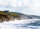 istock Beach And Cliffs At Porthleven Cornwall UK 164932080