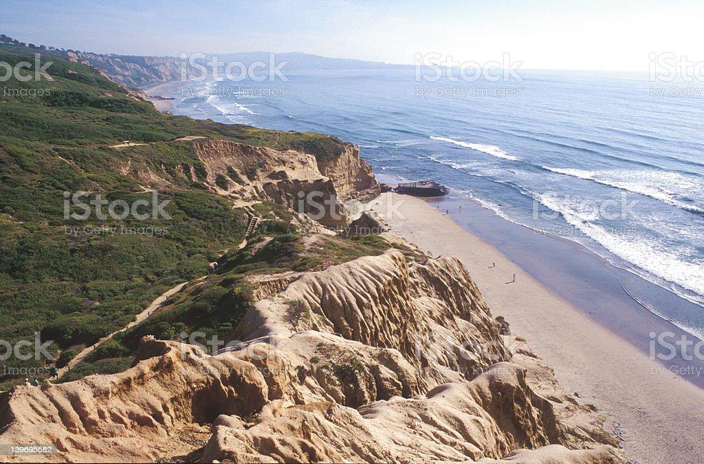 Beach and Coastline royalty-free stock photo