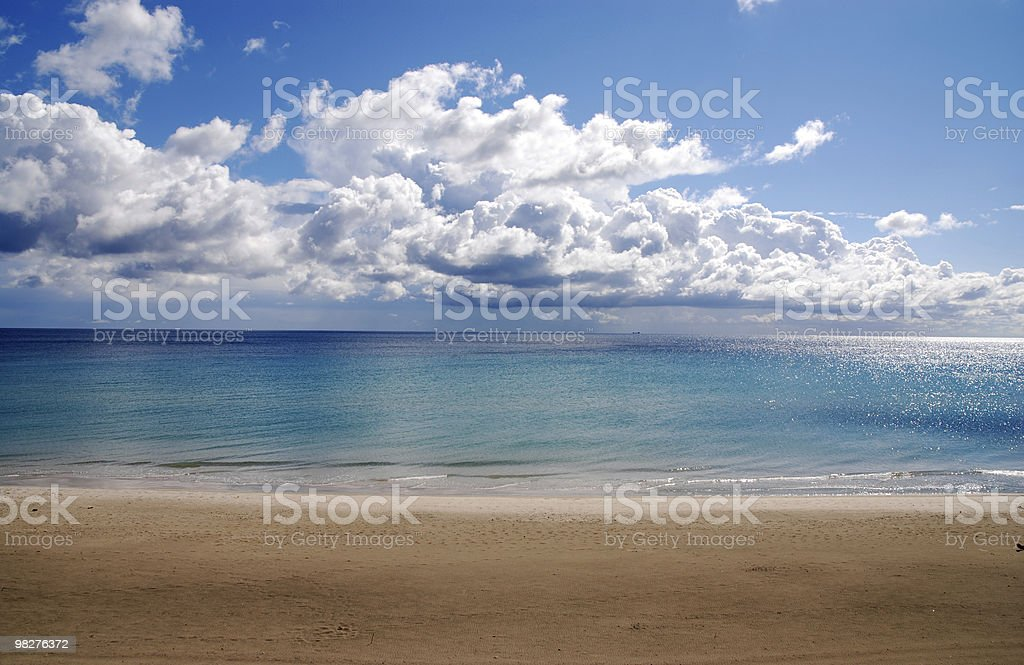 beach and colors of dreams royalty-free stock photo