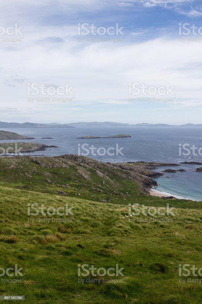 A beach and its Coast 2 stock photo