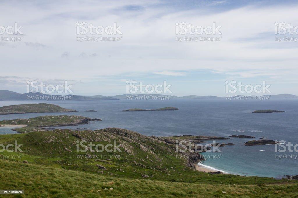 A beach and its Coast stock photo