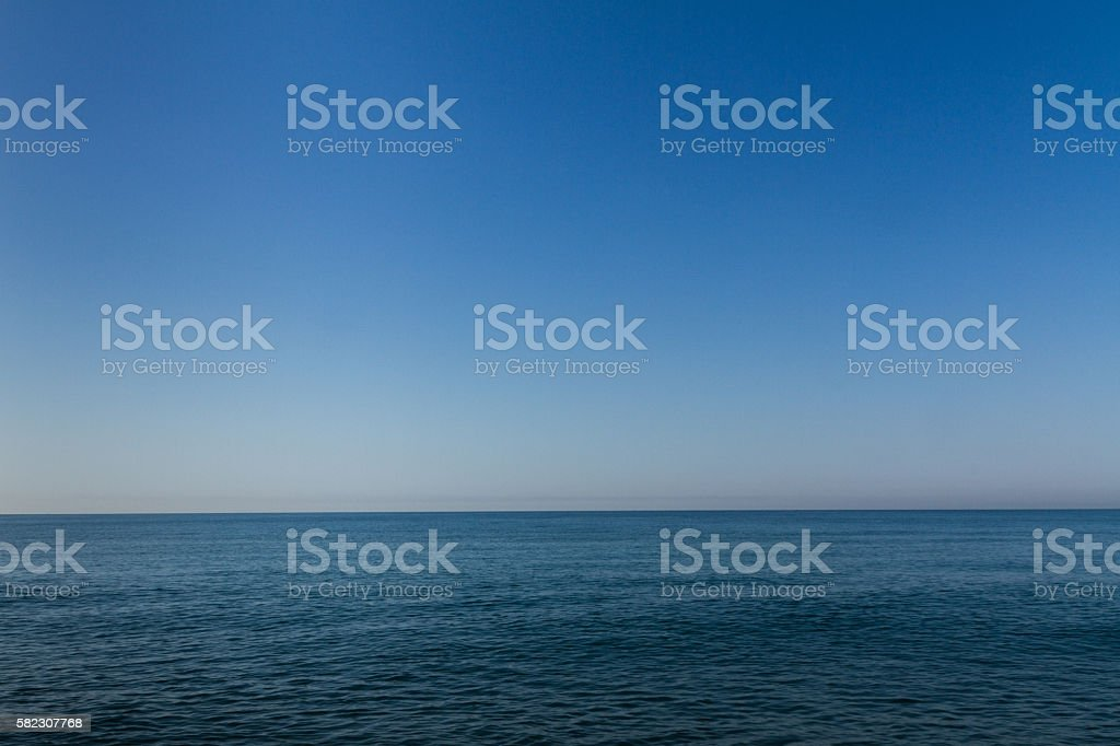 Beach and Sea background stock photo