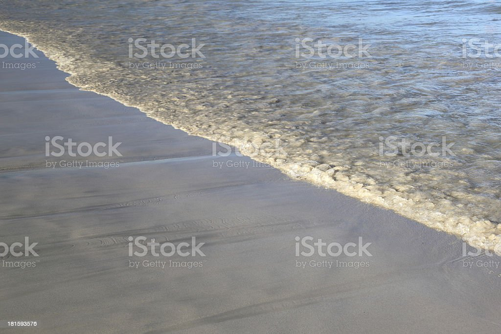 Beach and sea border -  background royalty-free stock photo