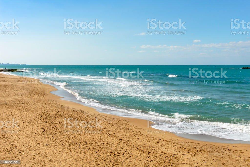 Praia e mar - foto de acervo