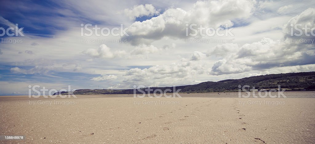 Beach and Sky royalty-free stock photo