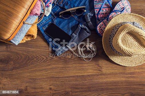 654680306 istock photo Beach and summer 654671634
