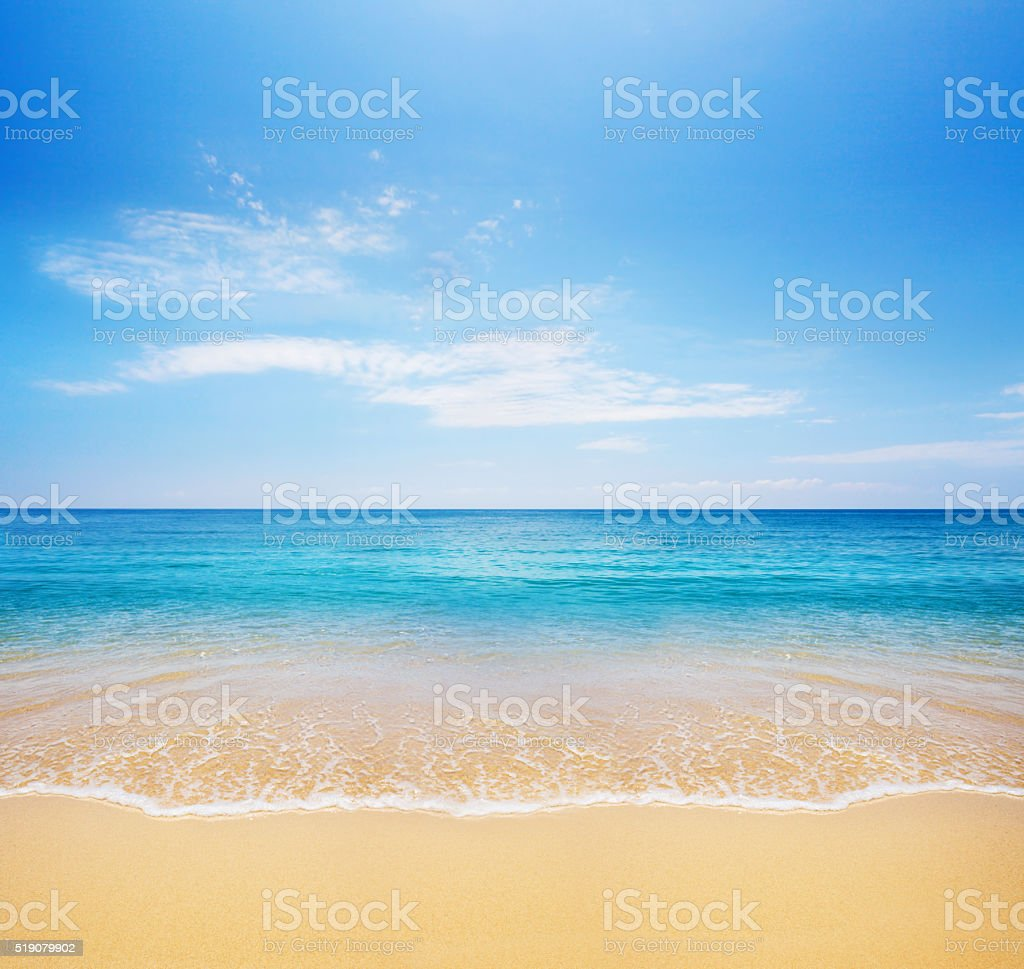 beach and tropical sea​​​ foto