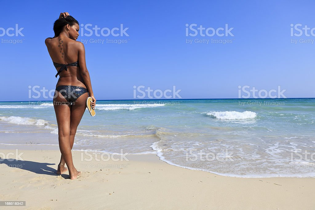 Beach and vacation stock photo