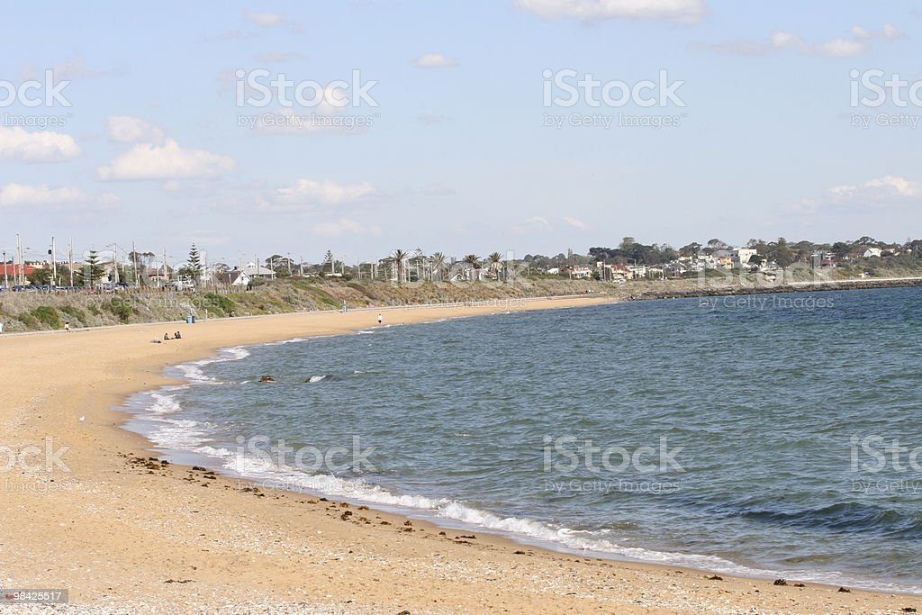 Beach around the Bay royalty-free stock photo