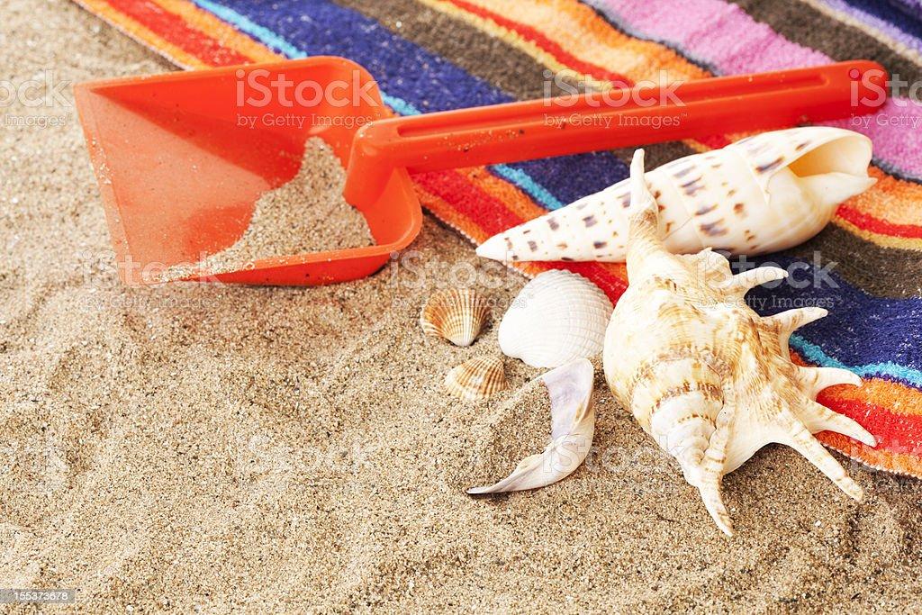 Beach Arrangement royalty-free stock photo