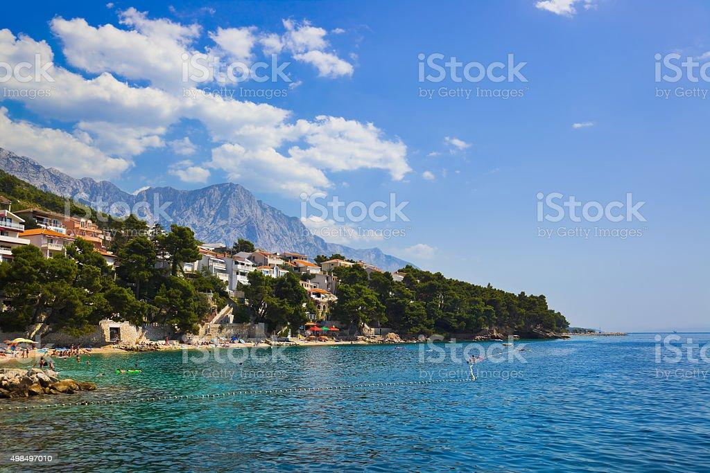 Strand in Baska Voda, Kroatien – Foto