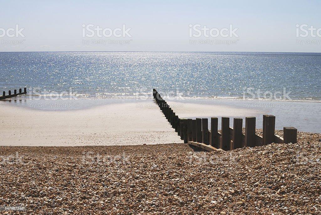 Plaża w Bognor Regis. Sussex. Anglia – zdjęcie