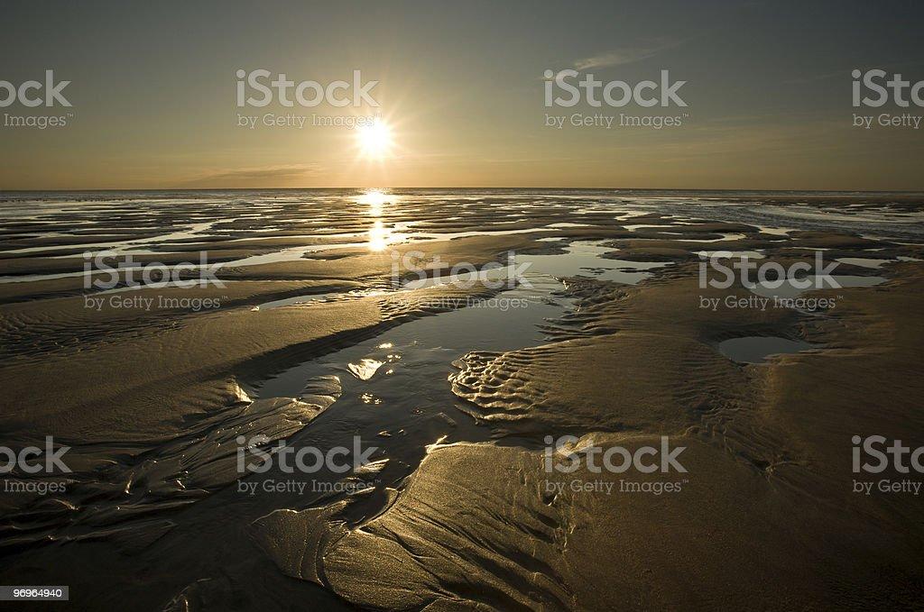 Beach at Cornwall royalty-free stock photo