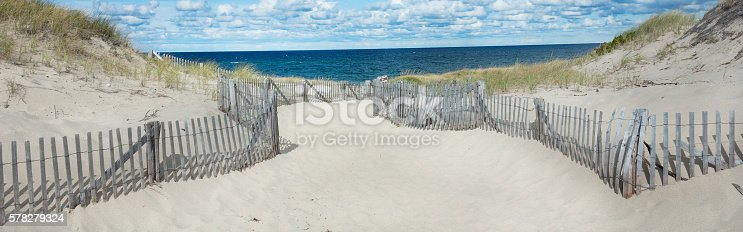 istock Beach at in Provincetown, MA on Cape Cod 578279324