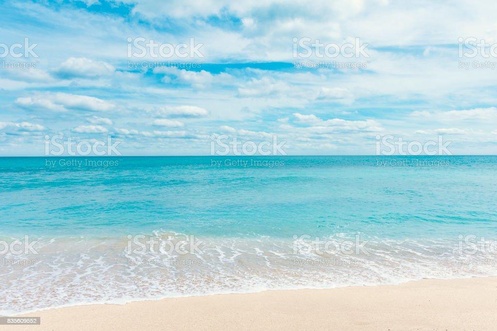 Beach at Miami Beach stock photo