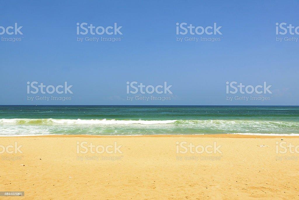 Beach at Phu Yen province, Vietnam stock photo