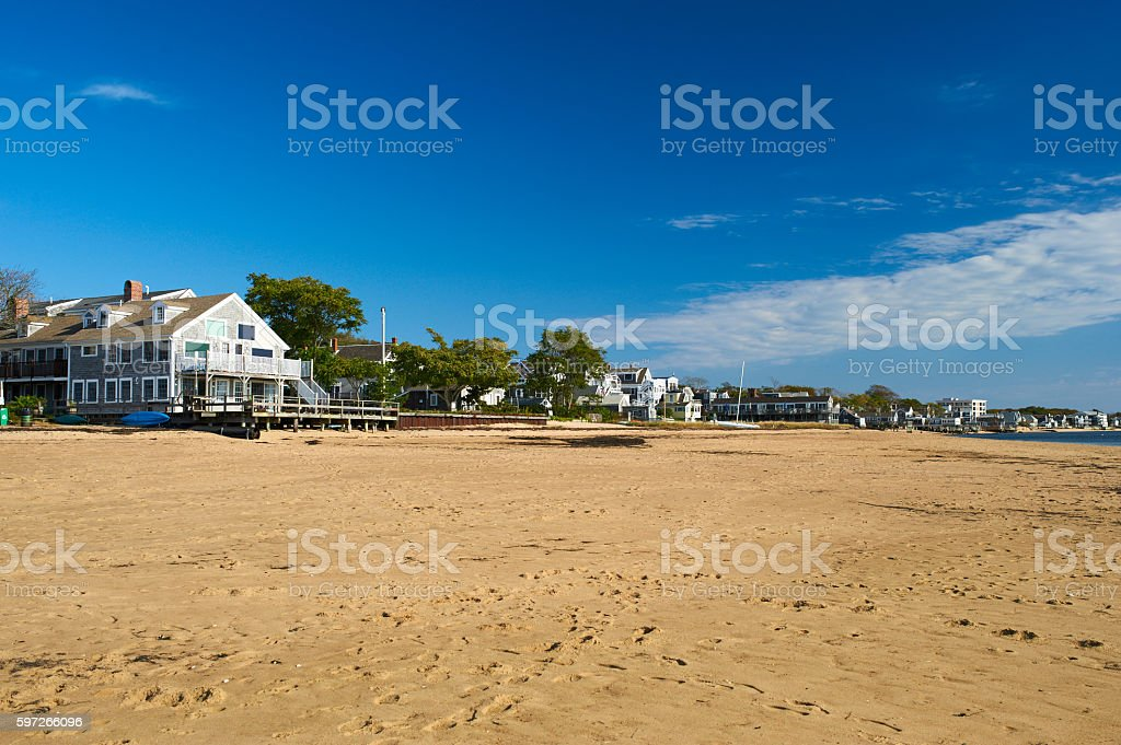 Beach at Provincetown, Cape Cod, Massachusetts royalty-free stock photo
