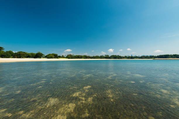 Strand von Saint John Island in Singapur – Foto