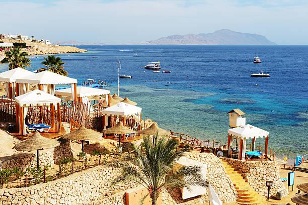 Strand im Luxushotel, Sharm el Sheikh, Ägypten – Foto