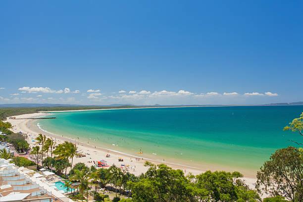 Beach at your doorstep Australia stock photo