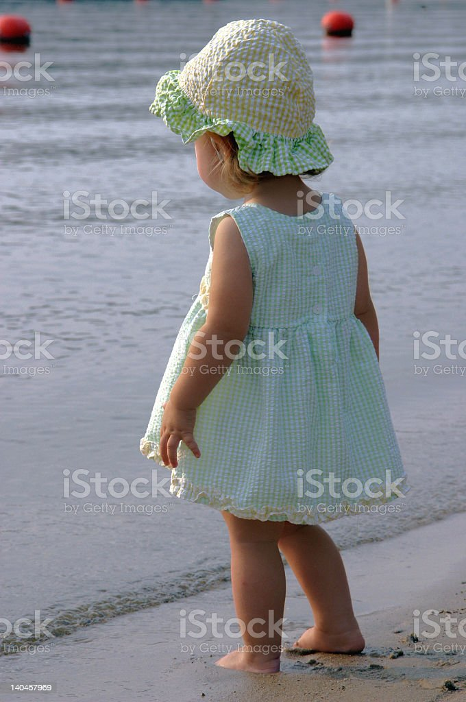 Beach Babe stock photo