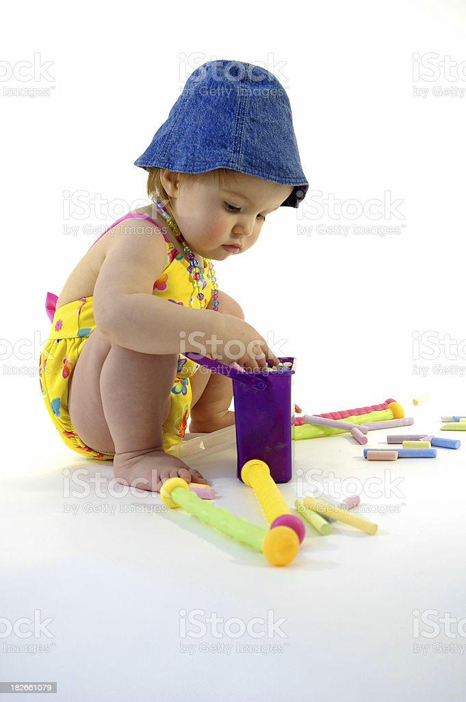 Beach Baby royalty-free stock photo