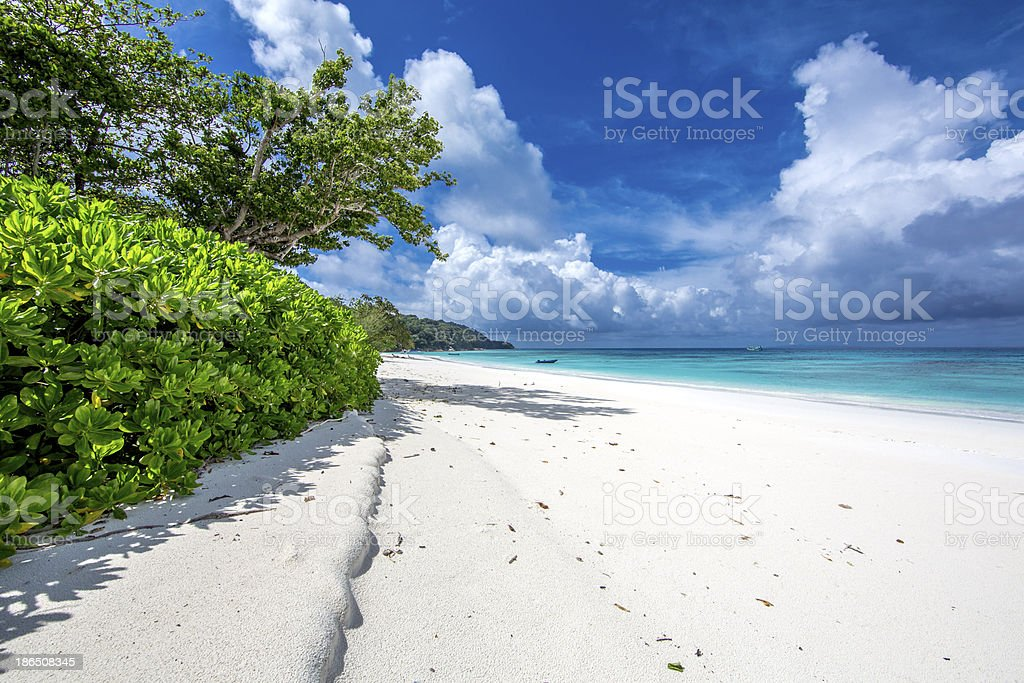 beach background royalty-free stock photo