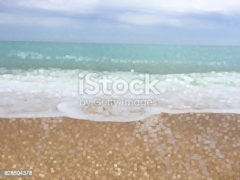 825992650istockphoto Beach background with tile effect. 828504378