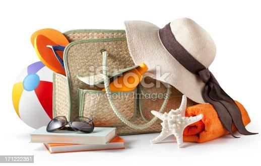 istock Beach bag 171222351