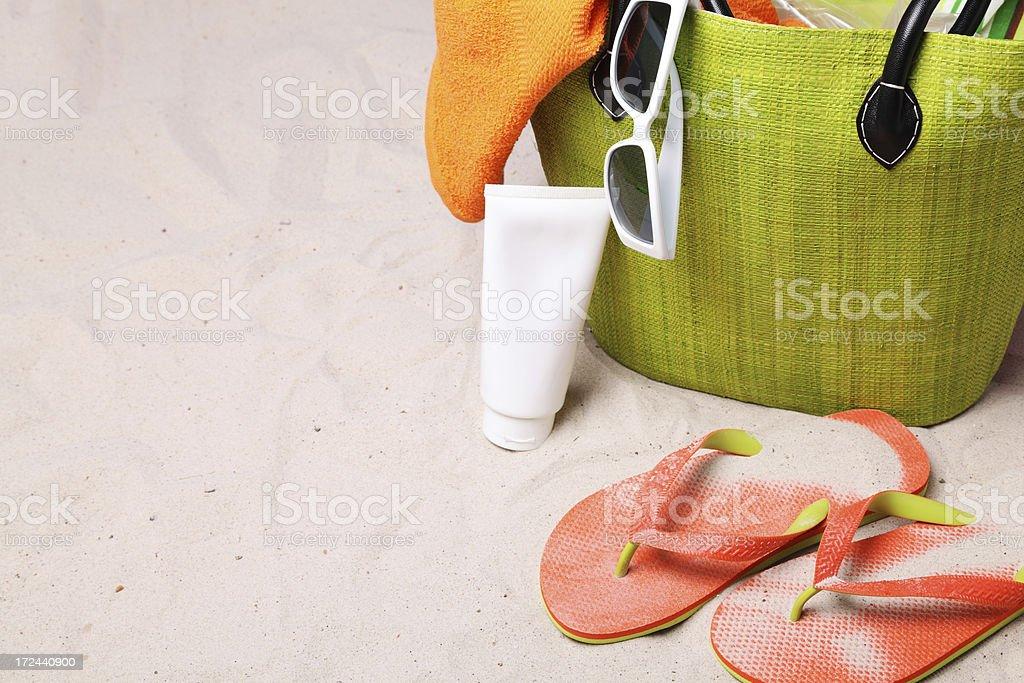 Beach Bag royalty-free stock photo