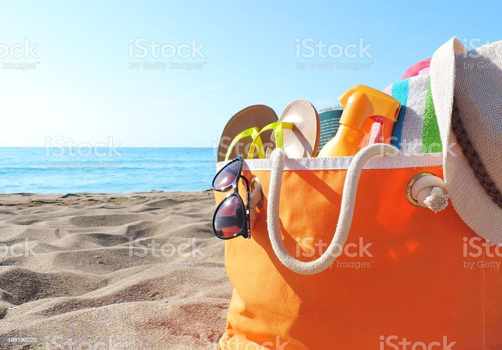 Bolsa de Praia - foto de acervo