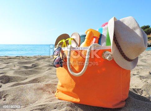 istock Beach bag 499190263