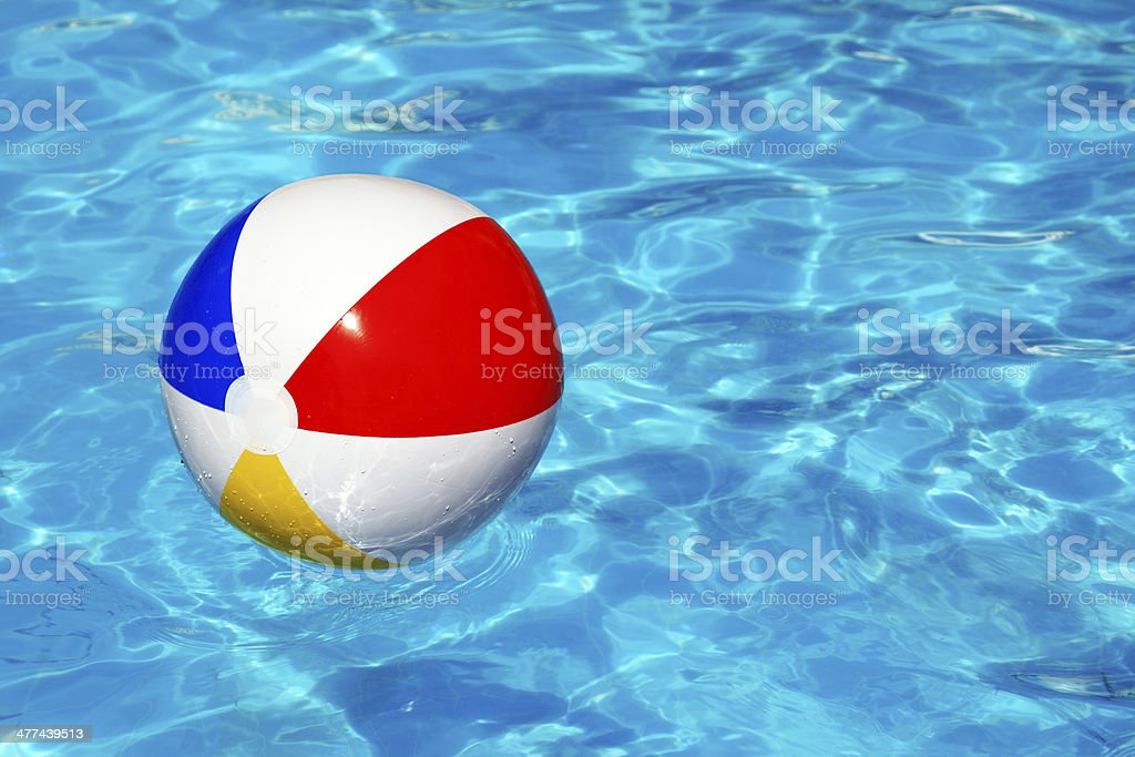 Ballon de plage de la piscine - Photo