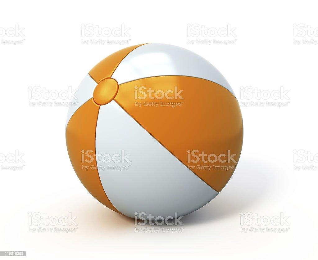 Beach ball stock photo