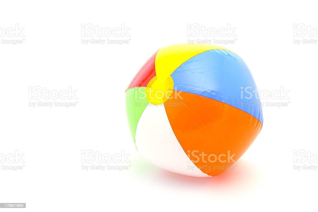 beach ball royalty-free stock photo