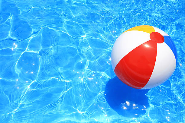 beach ball - beach ball stock photos and pictures