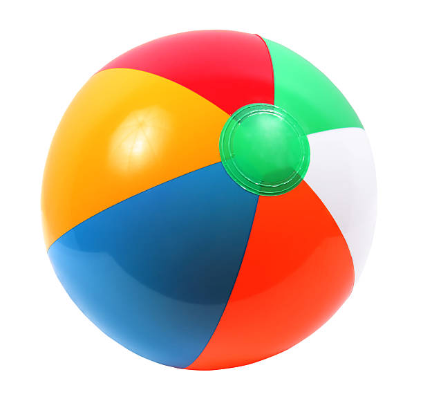 beach ball - ball stock photos and pictures