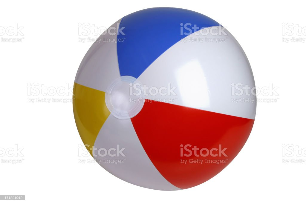 Beach Ball Series (clipping path) royalty-free stock photo