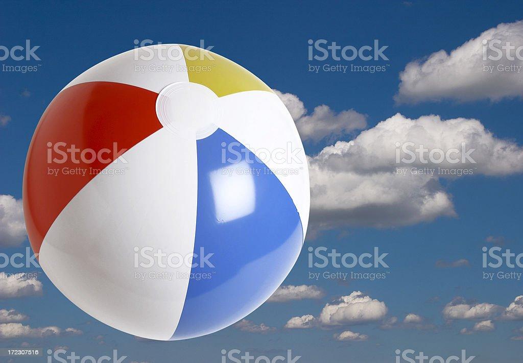 Beach ball Series royalty-free stock photo