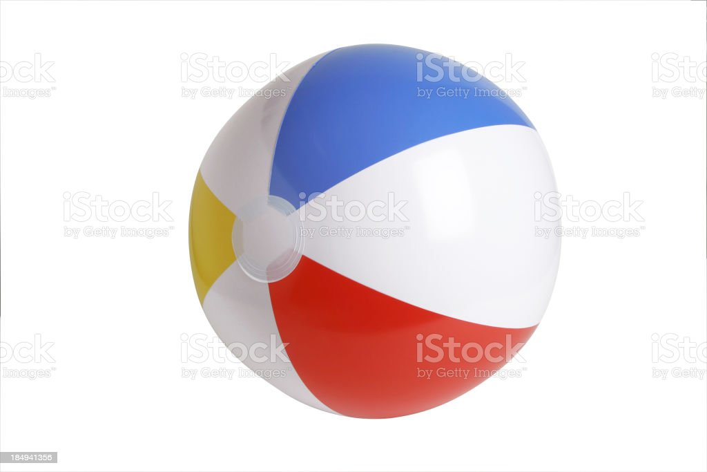 Beach ball Series (CLIPPING PATH) stock photo